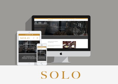 SOLO FULLY RESPONSIVE DESIGN
