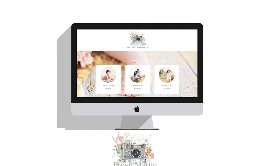 NEW PHOTOGRAPHERS WEBSITE | DAWN MARTIN PHOTOGRAPHY