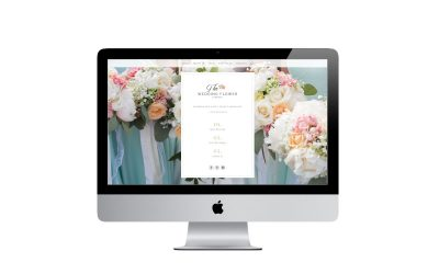 THE WEDDING FLOWER COMPANY   NEW WEBSITE DESIGN AND BRANDING