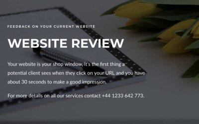 YOUR WEBSITE IS YOUR SHOP WINDOW   KEEP IT UPDATED & FRESH